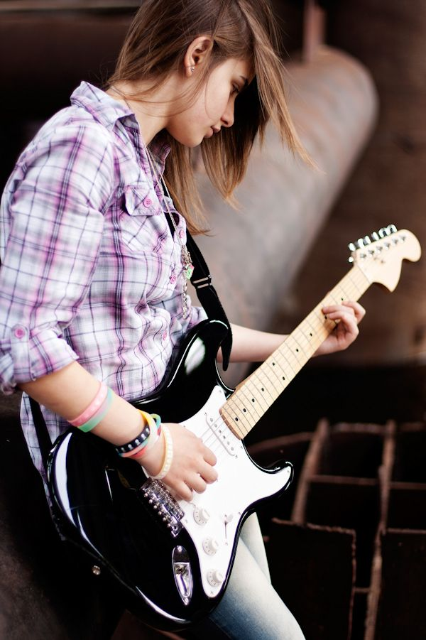 Transpose Guitar Chords at Chordchanger.com Stylish Cool Girl With Hat